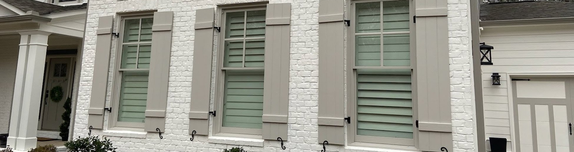 Wood Composite Shutters for Residential Windows
